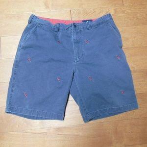 Cremieux grey Lobster Shorts 35
